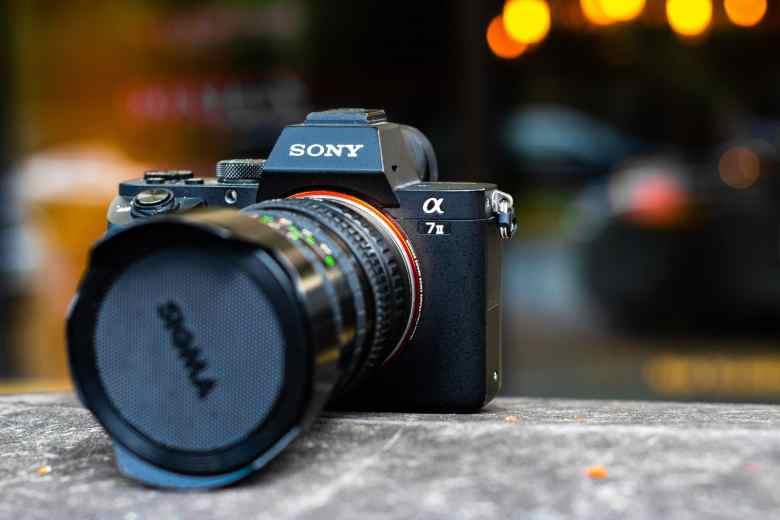 Sigma Lens on a Sony a7II camera body