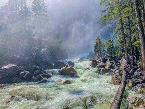 Lower Yosemite Falls Vista Point Trail