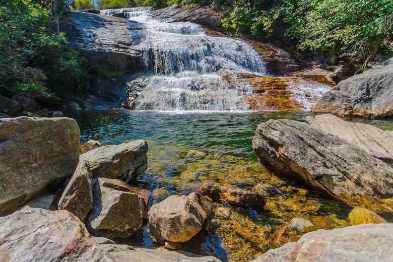Second Falls Graveyard Fields Trail