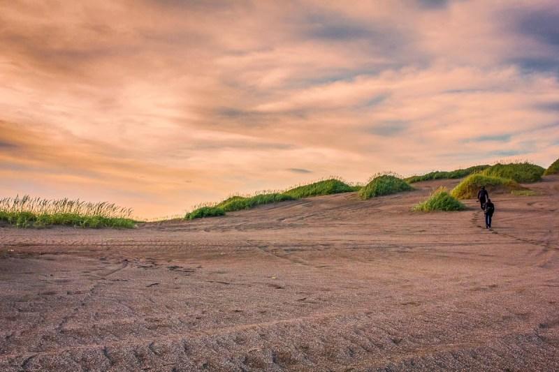 Stroll Through Vast Sand Dunes