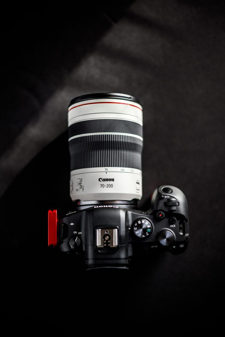 Canon 70 - 200mm lens on a Canon Camera Body