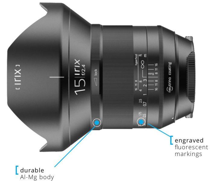 Irix 15mm - Blackstone