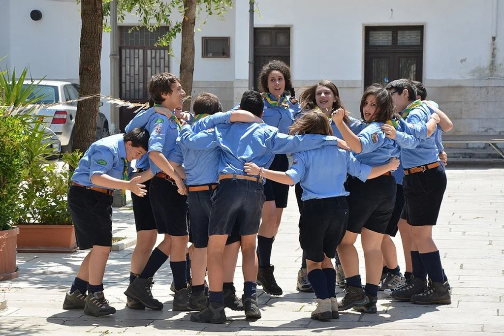 divise personalizzate scout