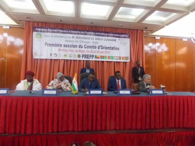 Première session du Comité d'Orientation du PREPP