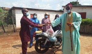 APESS motorise son perspicace point focal au Togo
