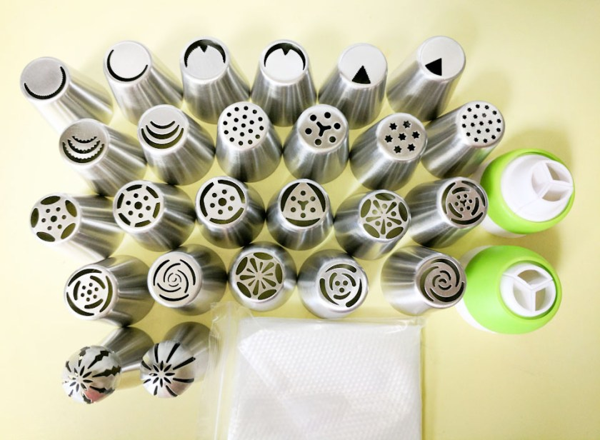 Kestilos cake decorating nozzle set