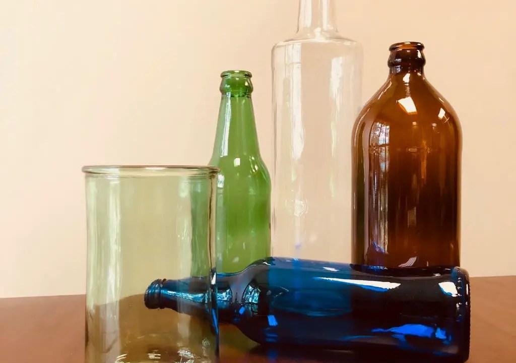 Recicle vidrio y reciba un vaso