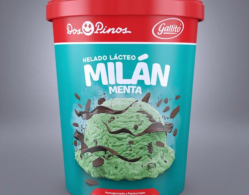 Nuevo Helado de Milán de Menta