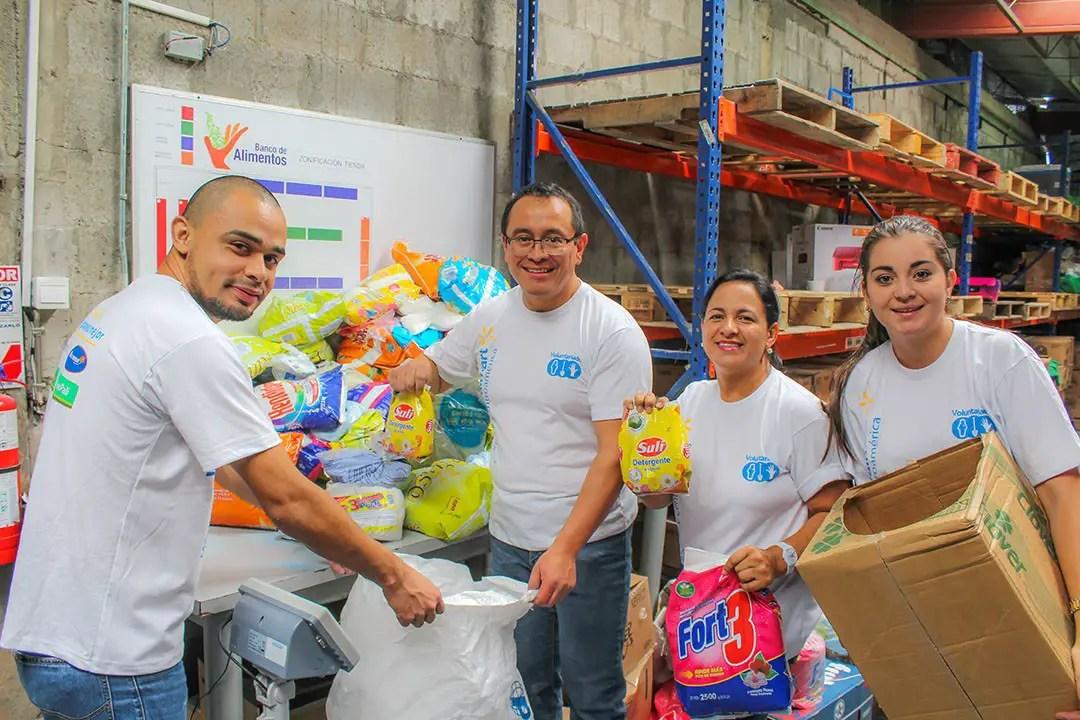 Banco de Alimentos necesita voluntarios diariamente