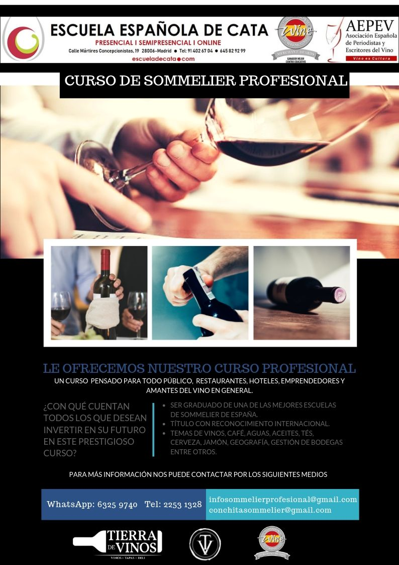 Curso sommelier