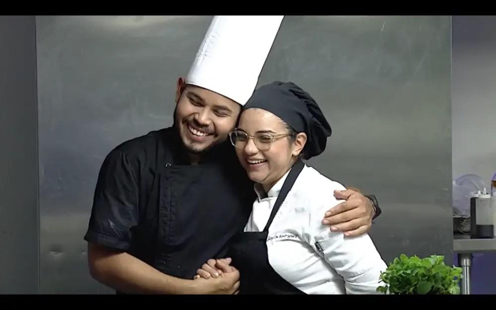Sancarleña y liberiano son los únicos dos chefs en llegar a la Gran Final de La Sazón que nos Une