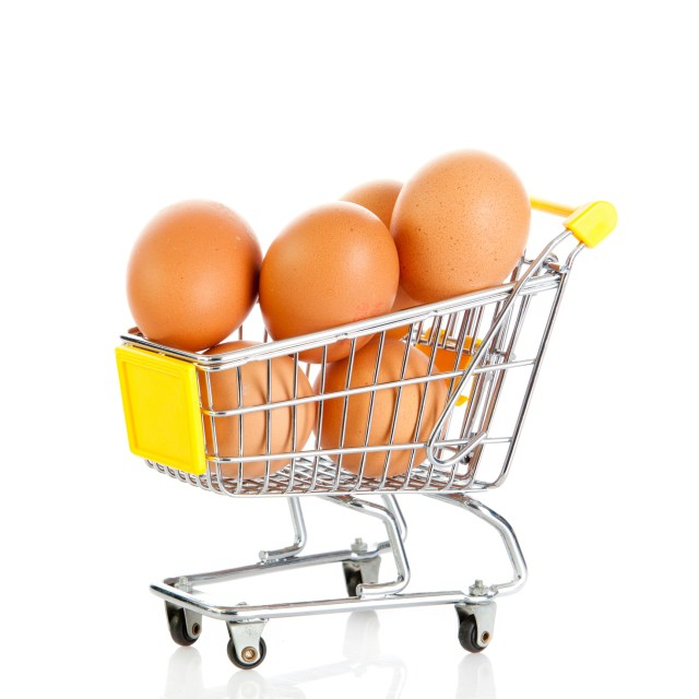 huevos al por mayor yema dorada