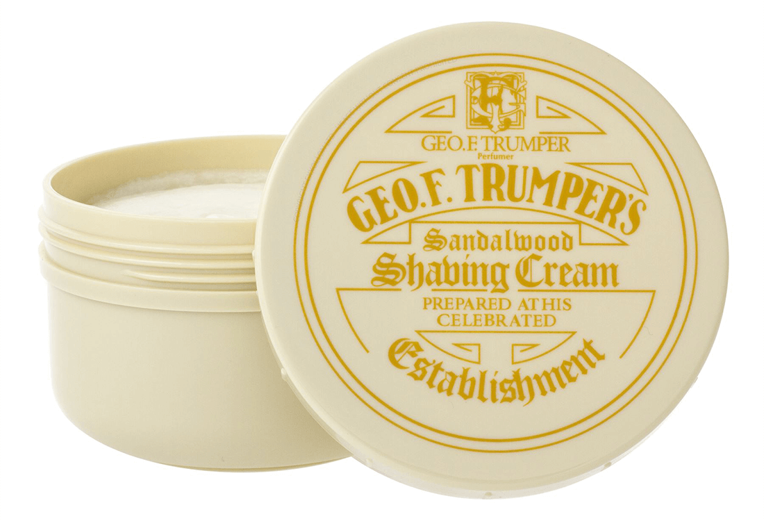 The best Protective shaving cream - Geo. F. Trumper