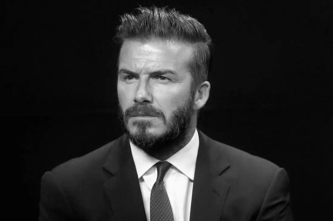 Friday Five David Beckham Stella Artois Mr Gandy Vitaman Evian