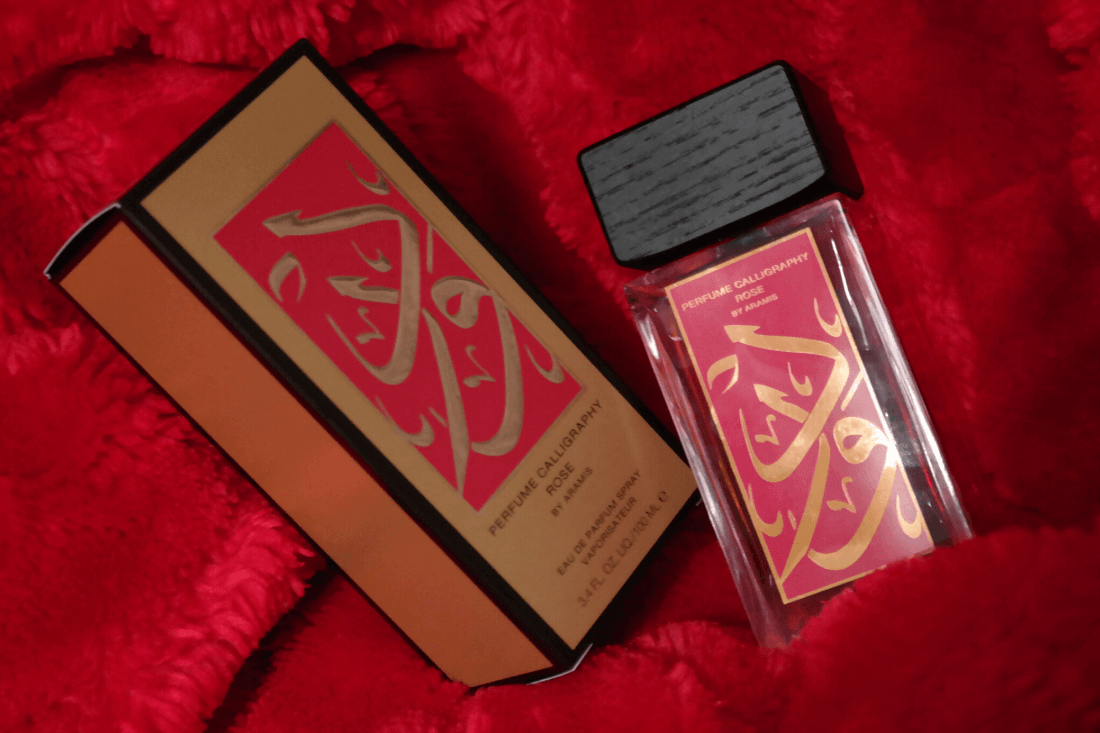Perfume Calligraphy Rose - Ape to Gentleman