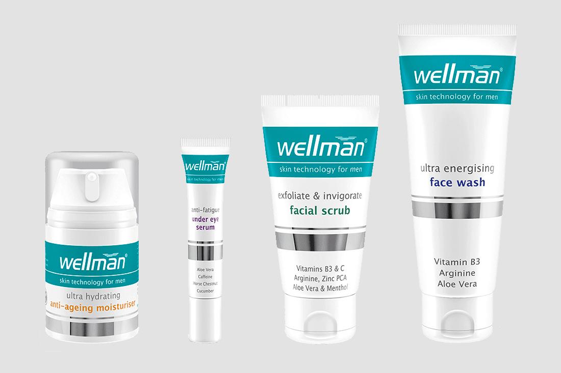 Vitabiotics - Wellman Skin Technology - Ape to Gentleman