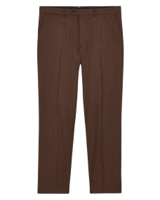 261017W Jaeger Slim Super 120 Flannel Trouser, (Rust) £110.jpg