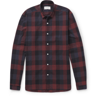 Oliver-Spencer-check-shirt