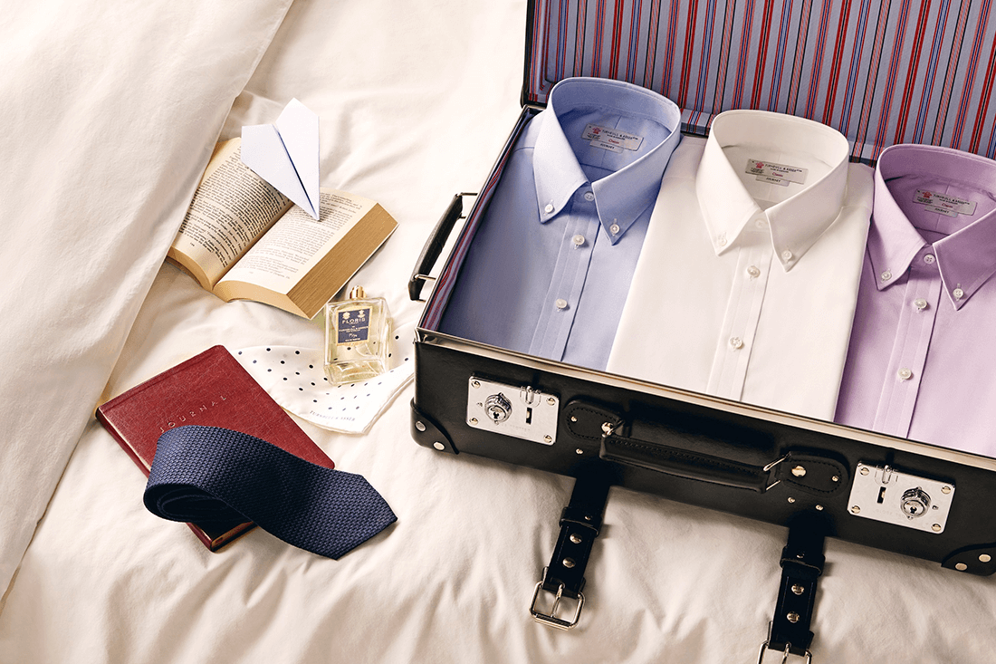 Turnbull & Asser The Journey Shirt Collection - Luxury Travel Shirts