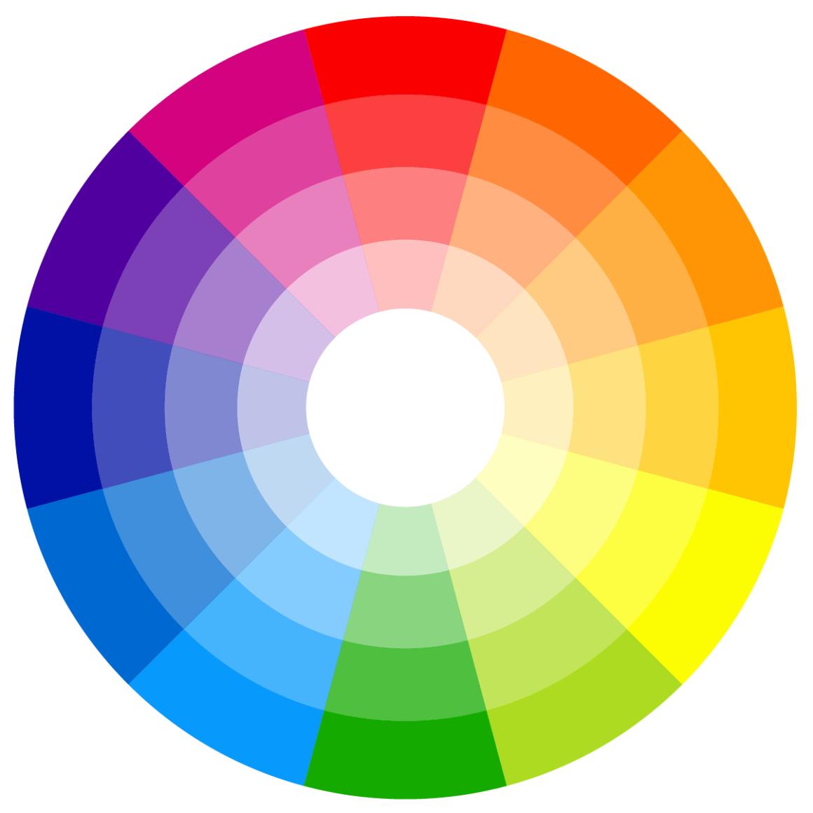 colour match - colour wheel