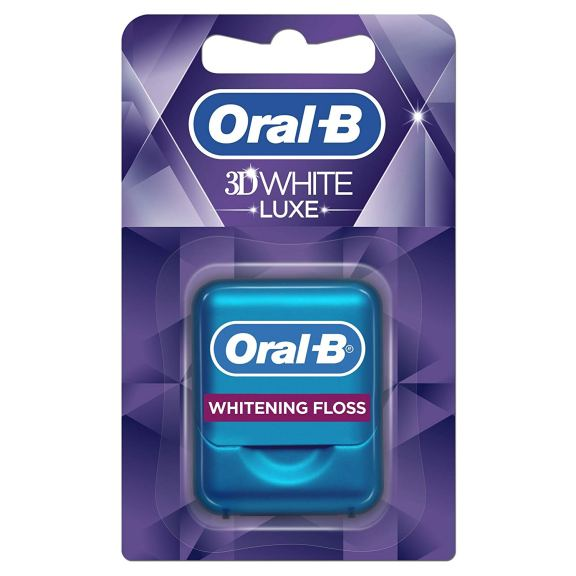 Oral-B 3DWhite Luxe - Dental Floss, Radiant Mint, 35 Metres £7.48 >