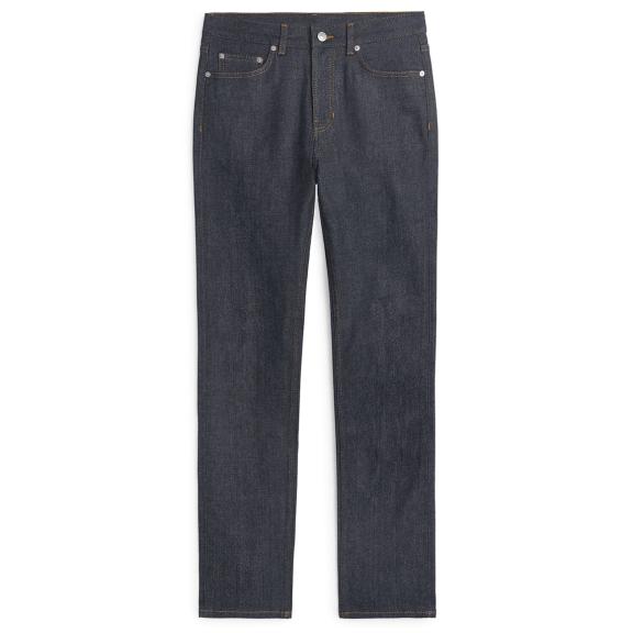 ARKET Slim Selvedge Jeans - Dark Blue - £99 >