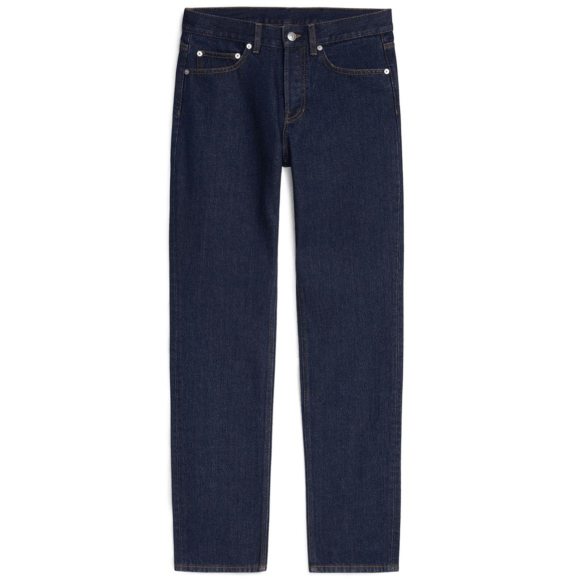 ARKET Regular Rinsed Indigo Jeans