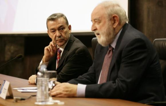 Paulino Rivero y Diego Carcedo
