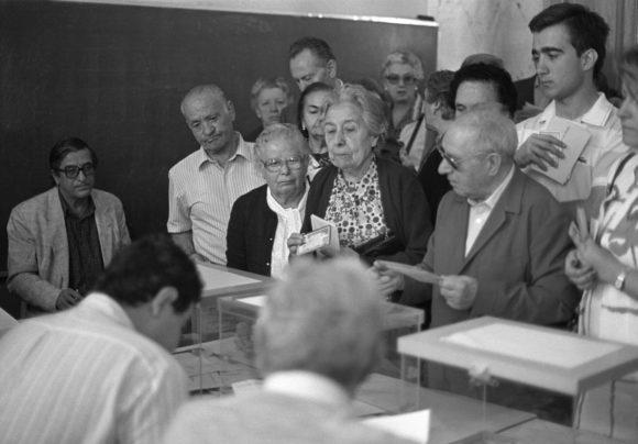 Primeras elecciones europeas en Espana