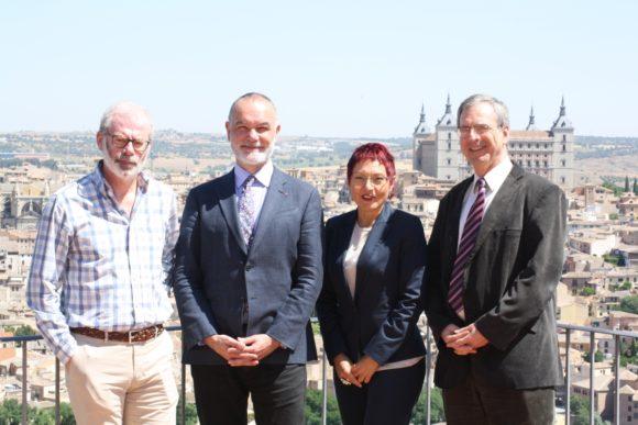 Jesús Núñez Villaverde, Jean-Pierre Filiu, Ana Bosch y Joost Hiltermann