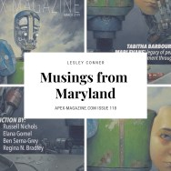 Musings from Maryland