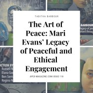 The Art of Peace: Mari Evans' Legacy of Peaceful and Ethical Engagement