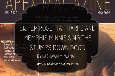 Sister Rosetta Tharpe and Memphis Minnie Sing the Stumps Down Good