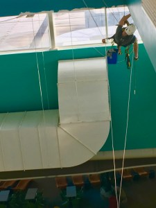 Apex Access Group - Rope Access - high level painting - Skegness