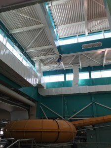 work at height - rope access - high level painting - Skegness