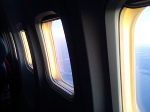 Windows on a 757