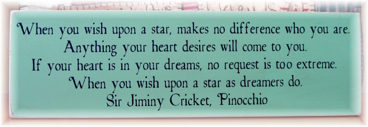 Jiminy Cricket Quotes Wish Upon A Star Image Gallery HCPR
