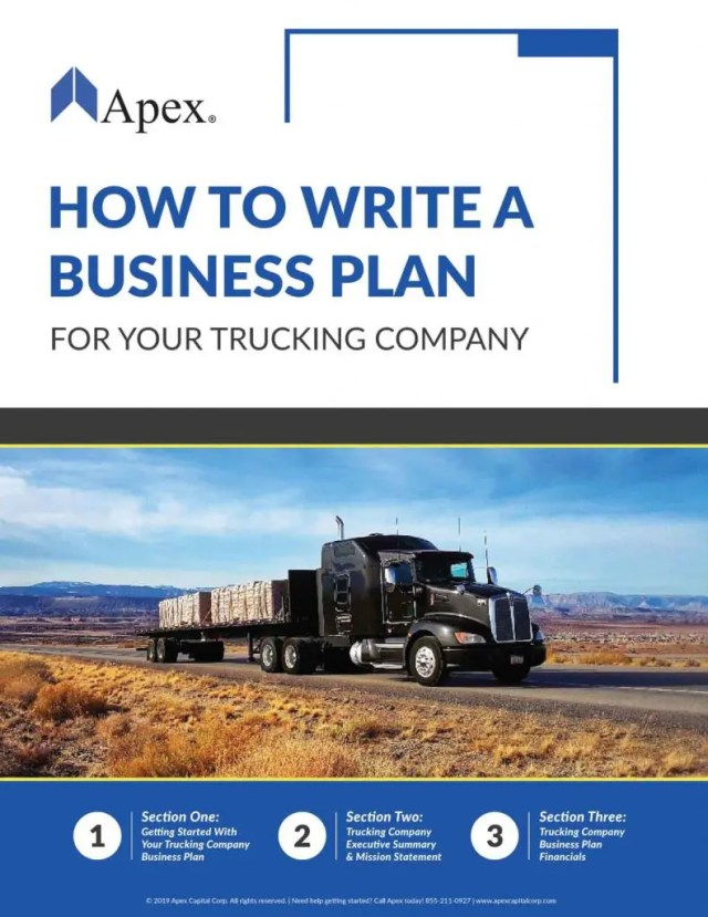 Free White Paper Downloads  Apex Capital  Guides to Trucking