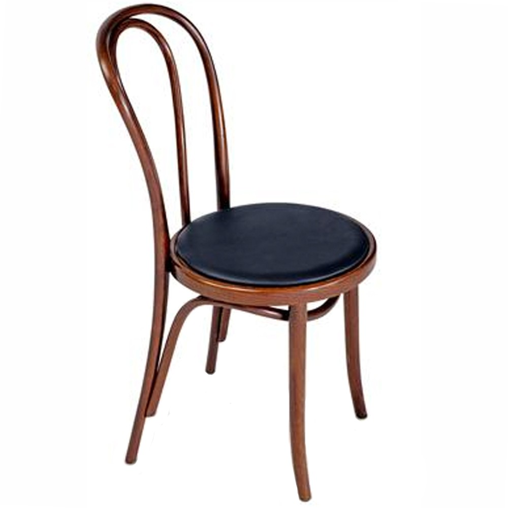 Genuine No 18 Bentwood Chair Padded Seat  Apex