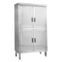 Upright Stainless Steel Storage Cabinet USC-6-1000 | Apex