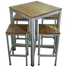 Commercial Outdoor Bar Table And Stools Apex