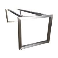 Modern Stainless Steel Table Base Frame | Apex