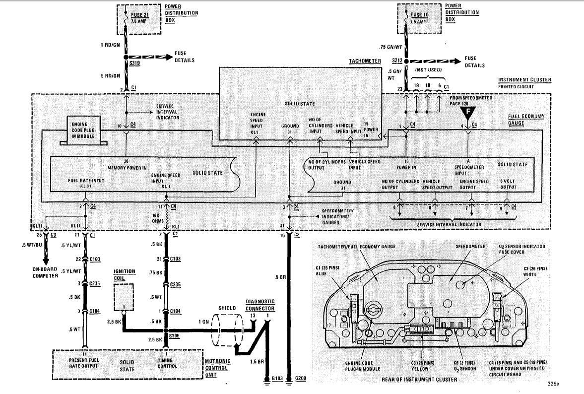 hight resolution of bmw e30 obc wiring diagram wiring diagram
