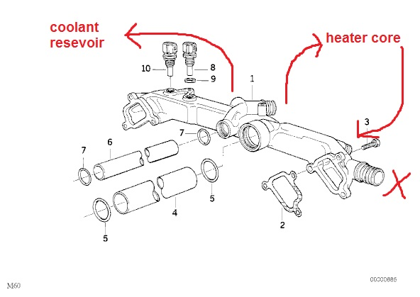BMW 325e Cooling System Diagram. BMW. Wiring Diagrams