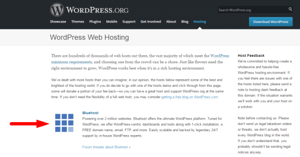 wordpress.org-bluehost-wordpress-web-hosting-endorsement