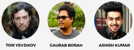 Tom Yevsikov, Gaurab Borah & Ashish Kumar