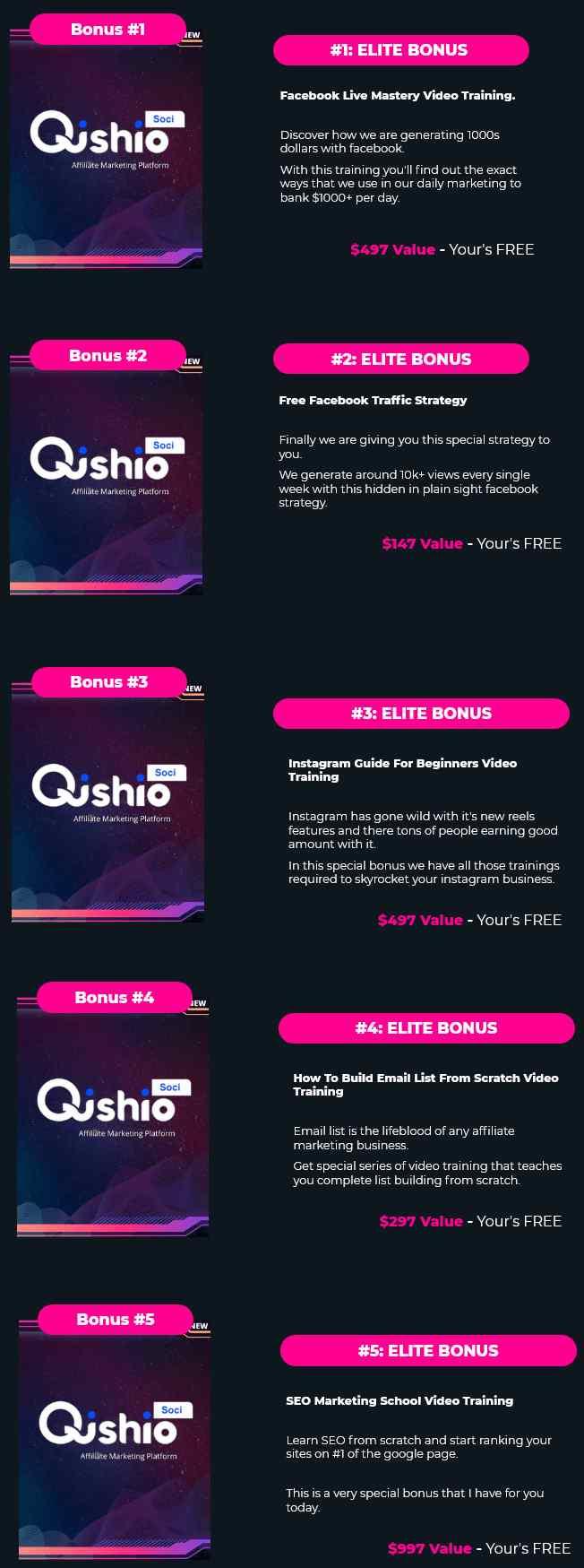 QishioSoci-Bonuses