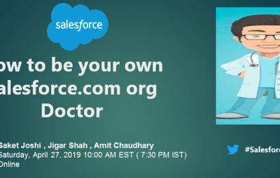 Salesforce.com org Doctor