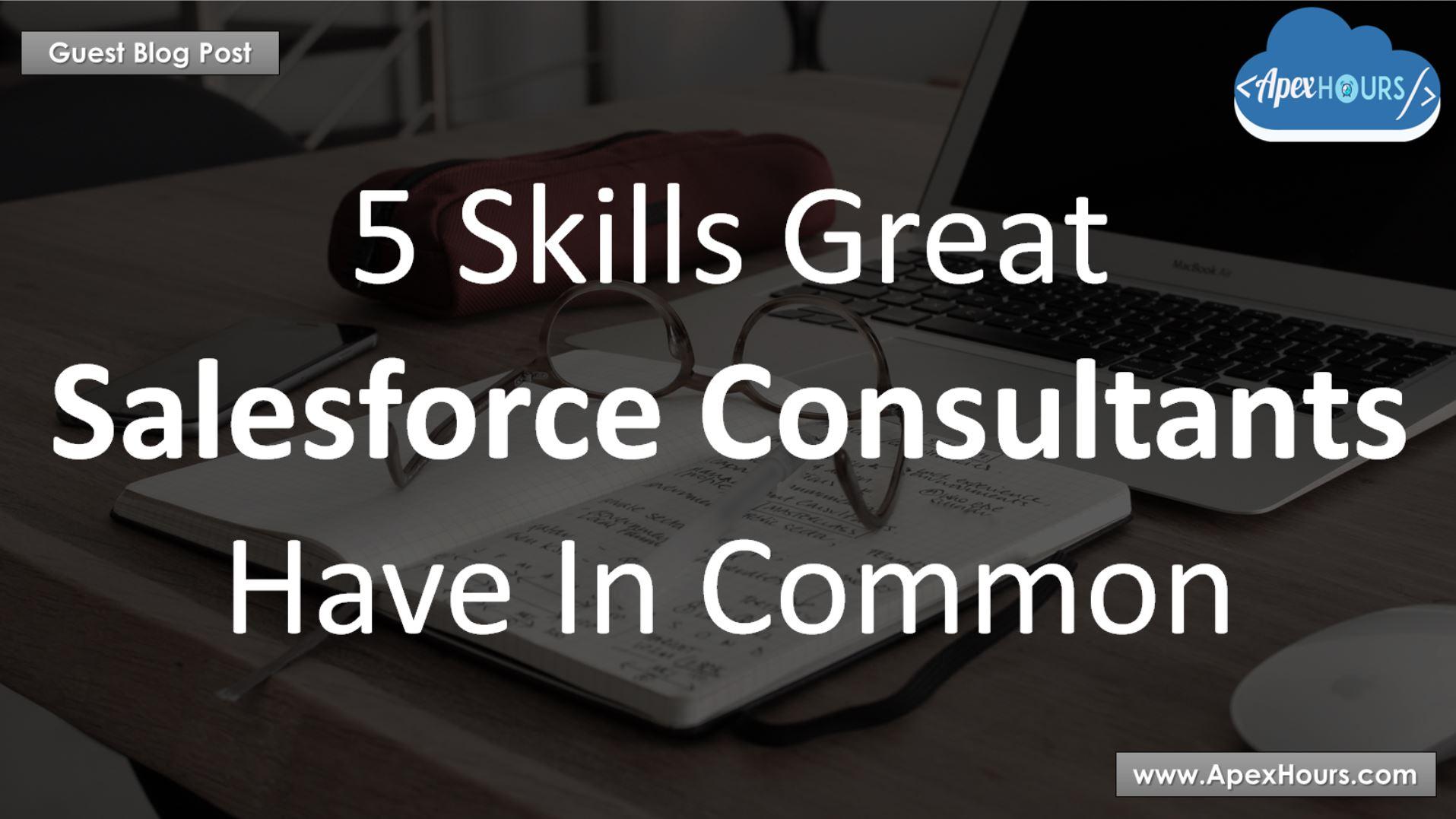Salesforce Consultants Skills