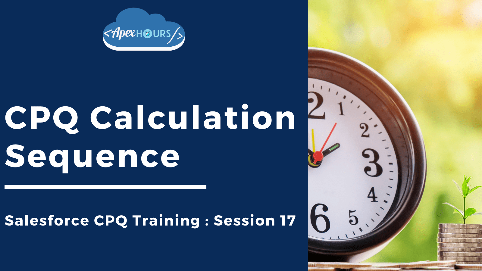 CPQ Calculation Sequence